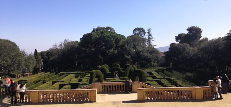 View of the Laberint d'Horta