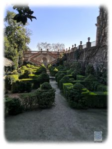 Walking towards the maze, allows to discover other gardens
